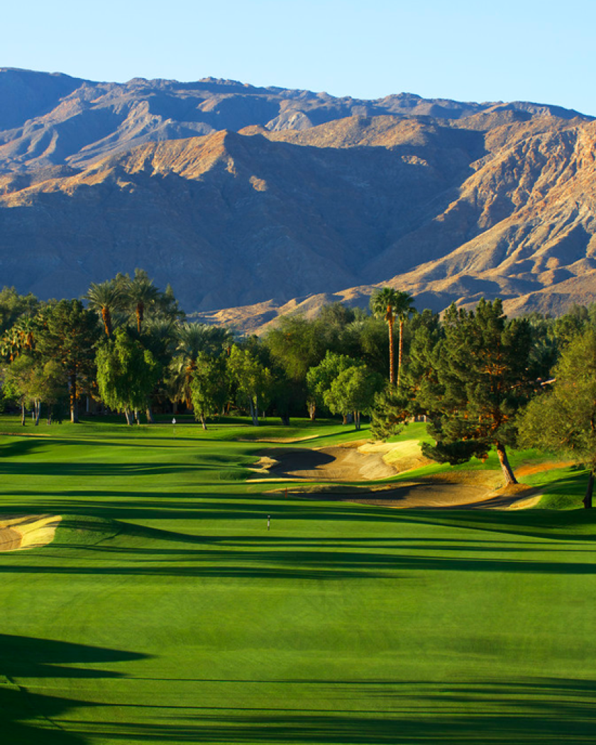 The Westin Mission Hills Golf Course mountains and fairways