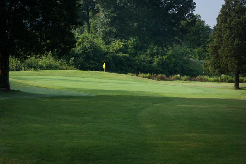 Knoxville Municipal Golf Course - Greens
