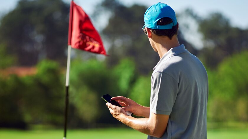 Mobile Phone, Mobile Golf App
